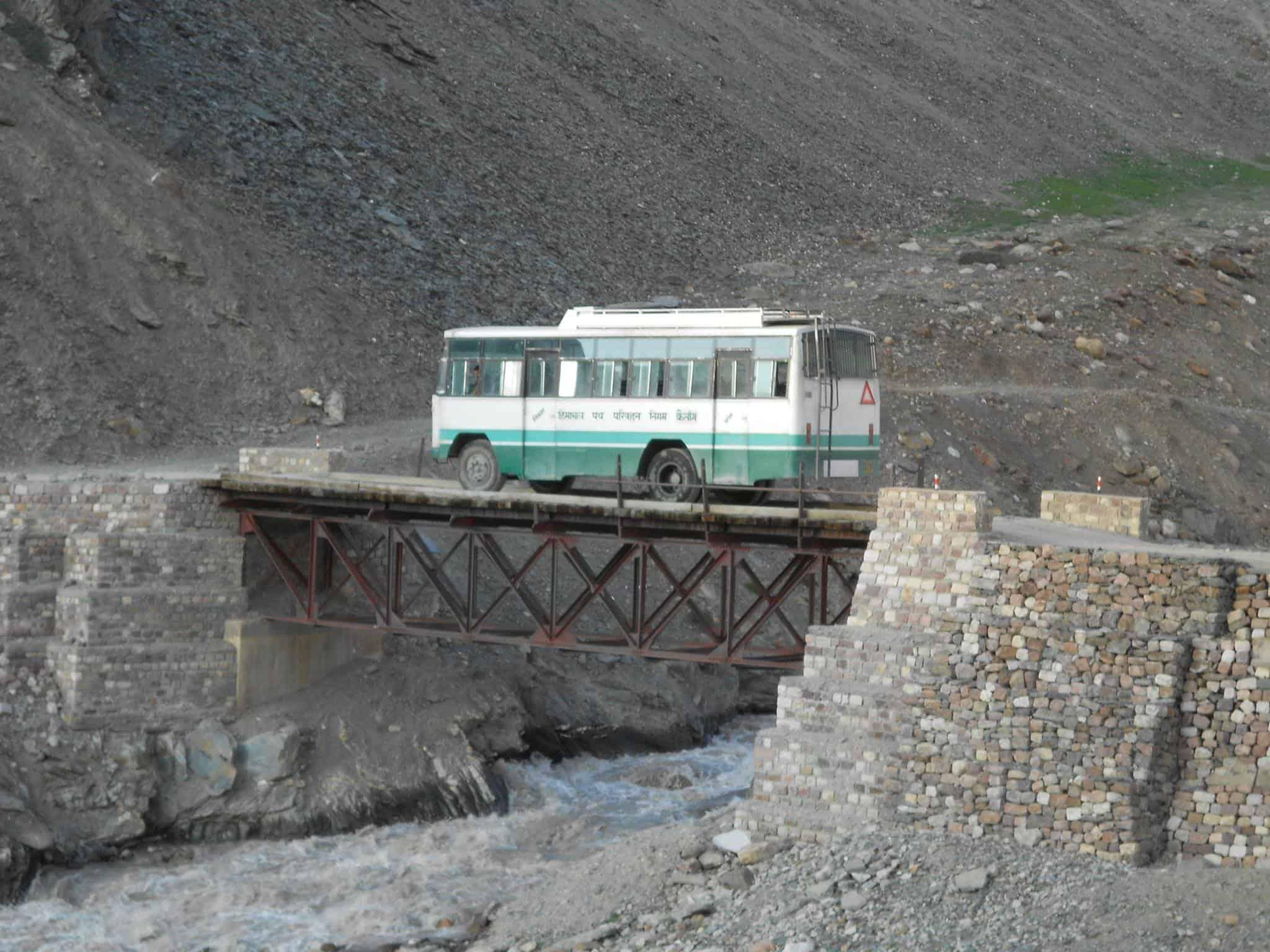 Hptdc Manali Leh Bus Service Starts In July Devil On Wheels