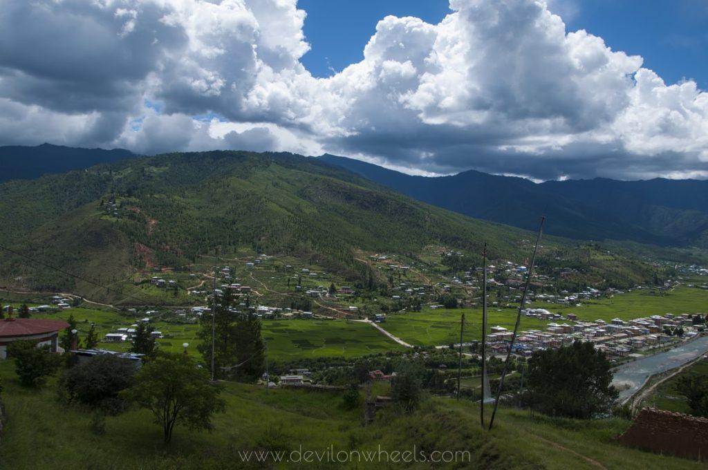 Tiny settlements in Eastern Bhutan