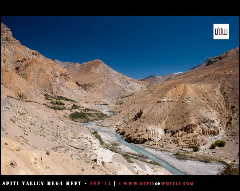 The barren beauty of Spiti Valley