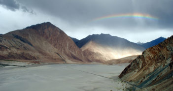 A heavenly view of Nubra Valley, Ladakh in Monsoons
