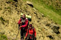 The Traveling Duo - Tarun with his wife, trekking in Himalayas of Himachal