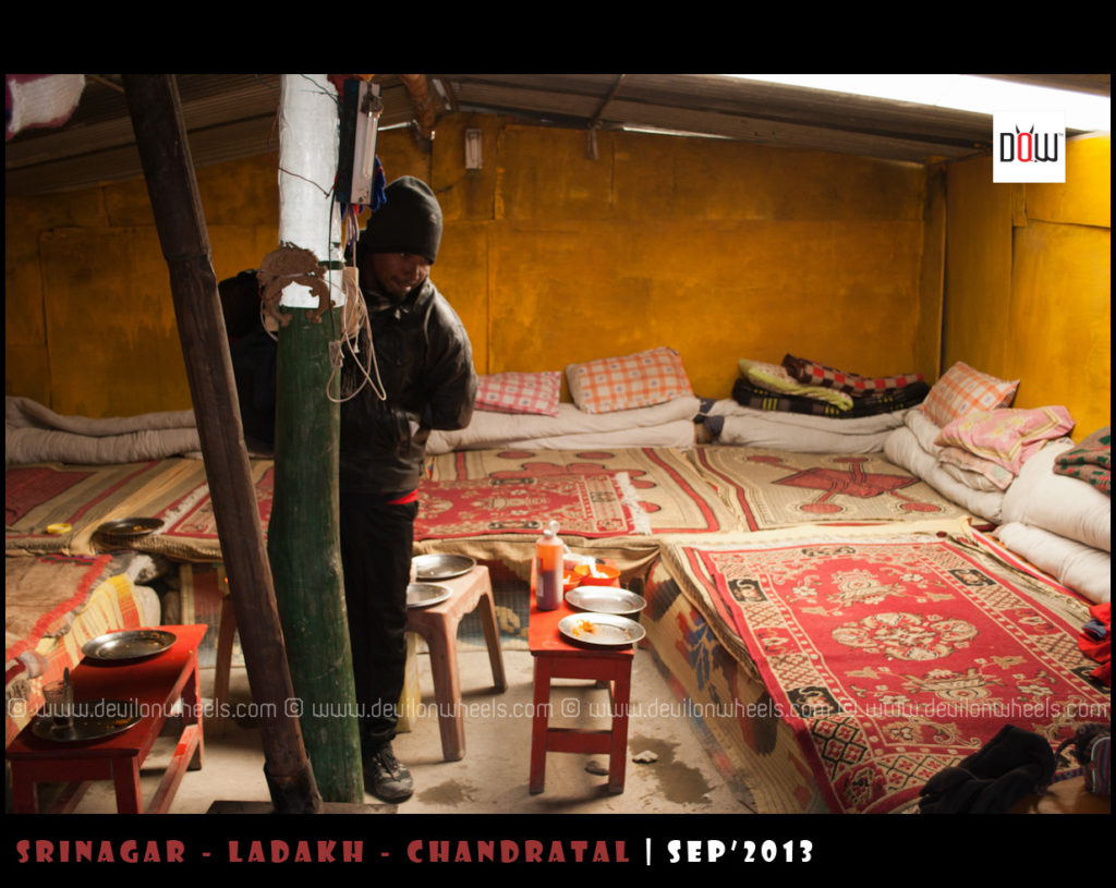 A kind of a budget stay in Ladakh