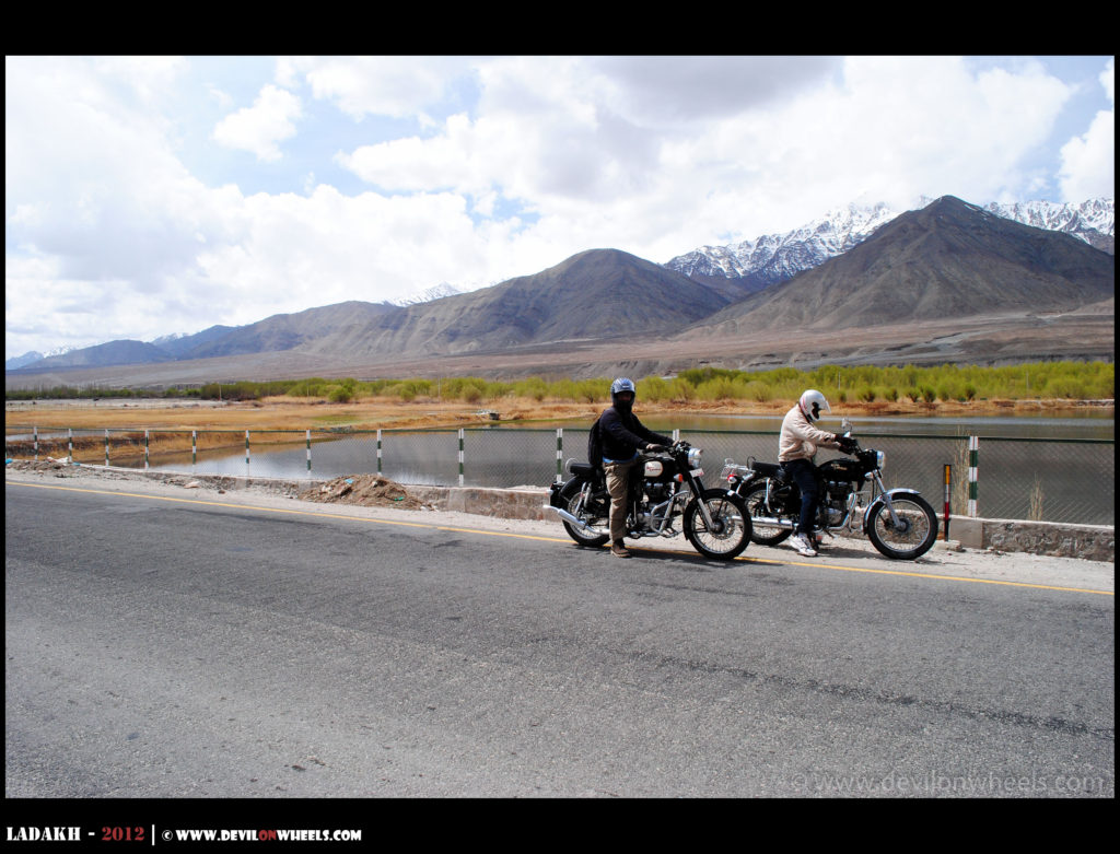 Rent a bike for a day in Ladakh