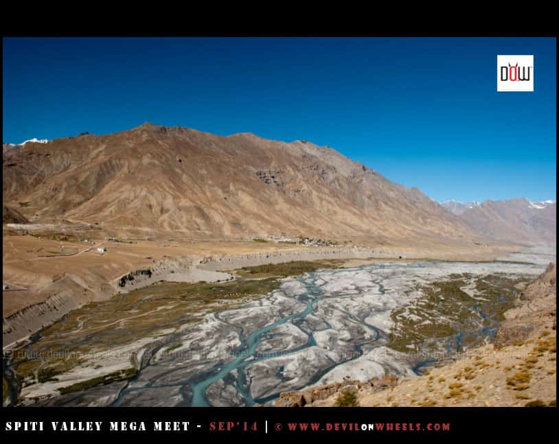 Fabulous views of Spiti Valley