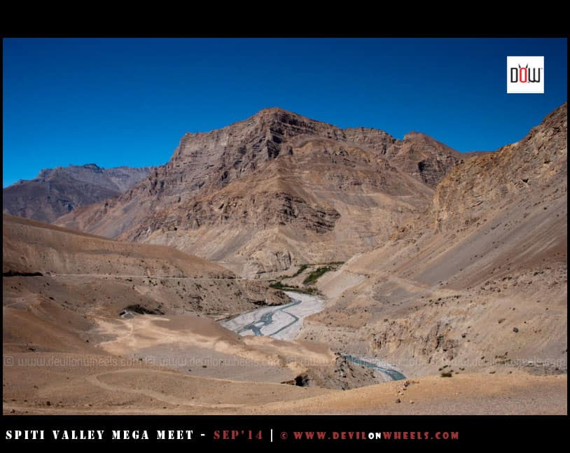 Beautiful views of Spiti Valley