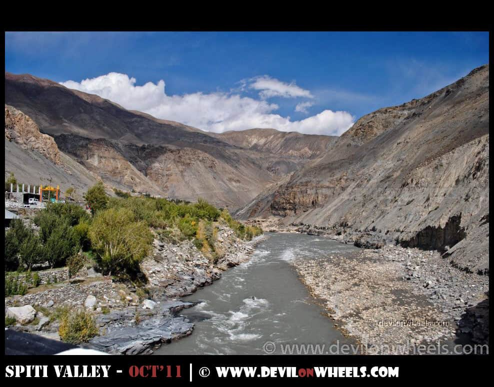 Shialkhar Village - Another village with no mobile connectivity on the way to Spiti Valley