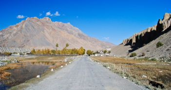 That beautiful morning on the road to Spiti Valley