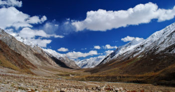 The mighty glaciers of Zanskar Valley