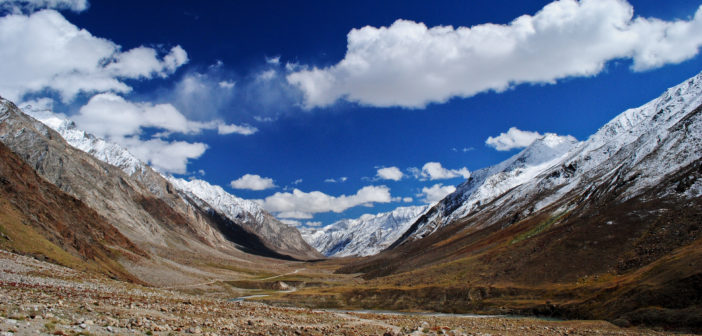 The mighty glaciers of Zanskar Valley