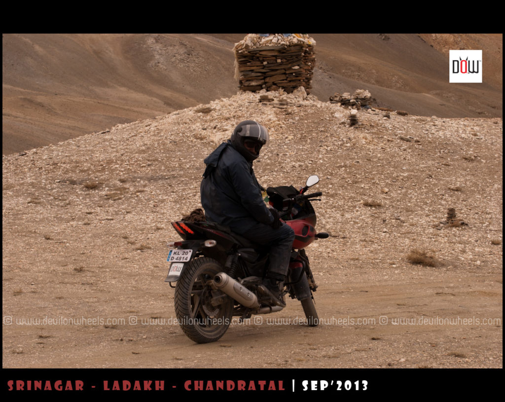 Ready for the next leg on Manali - Leh Highway