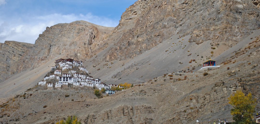 The picturesque Key Monastery