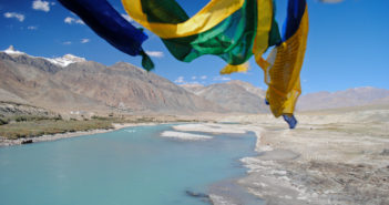 Colors of Zanskar Valley near Padum