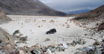 That day when you park your car in one of the most beautiful parking - Nubra Valley