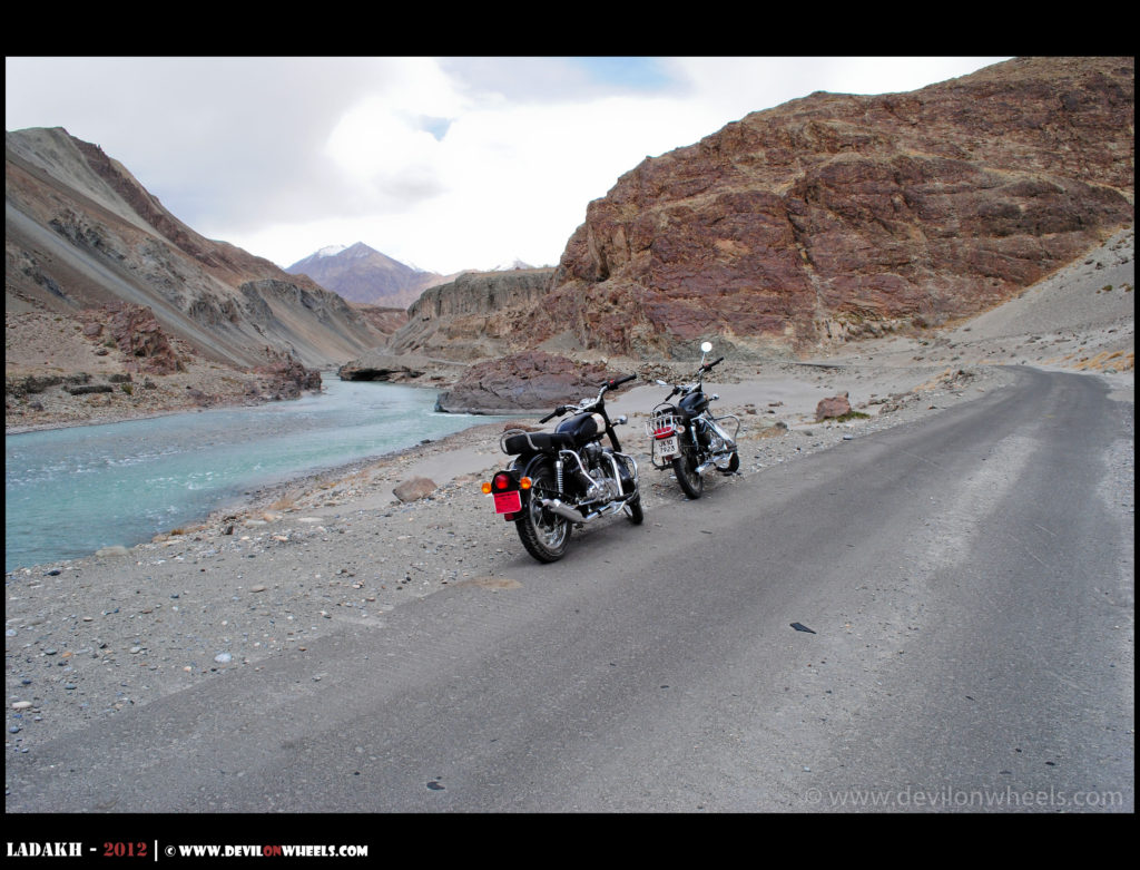The bike rides in Leh - Ladakh