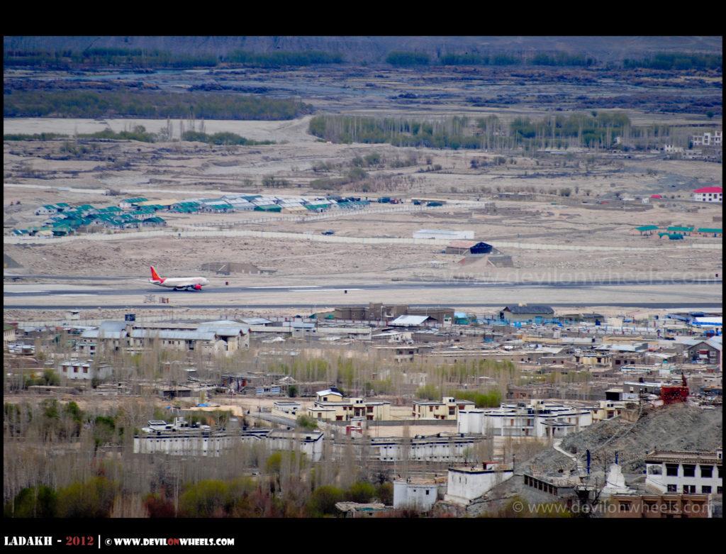 Flying to Leh - Ladakh