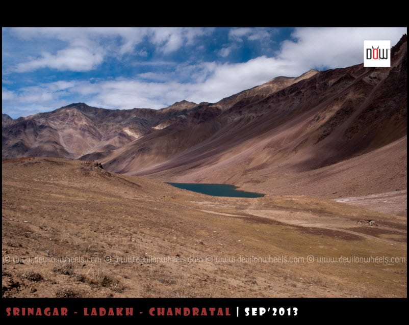 First look of Chandratal lake