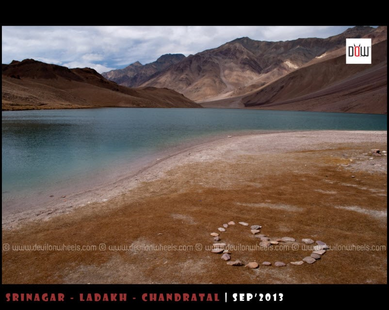 Show some love to nature, don't camp at Chandratal lake