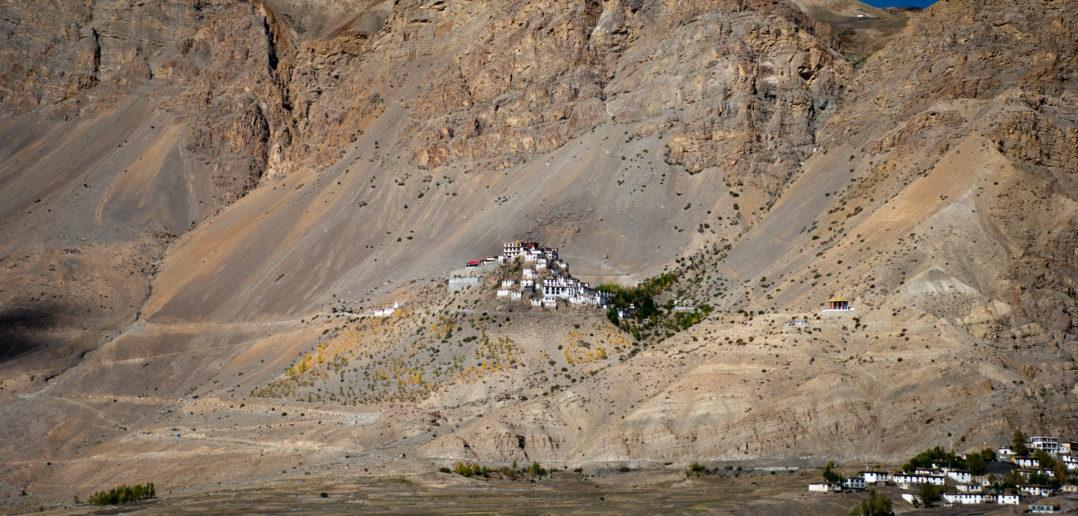 Ki Monastery, as seen from road to Chandratal from Kaza