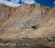 Ki Monastery, as seen from road to Chandratal from Kaza