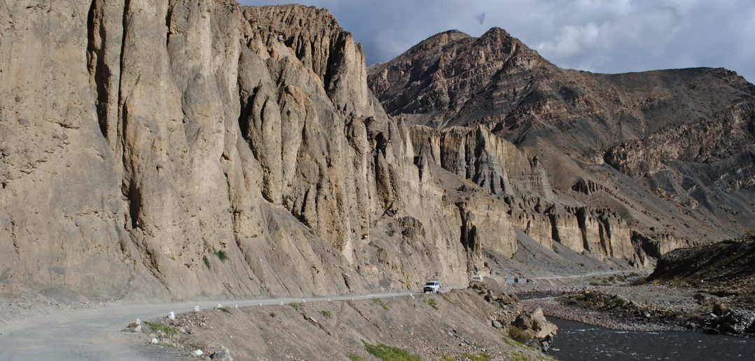 That day when you travel along Spiti river