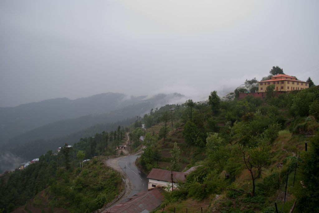 Beautiful and refreshing weather in lower hills when it rains in Himachal