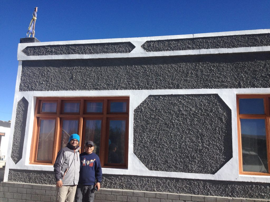 Sonam Dorje and Myself at Hanle