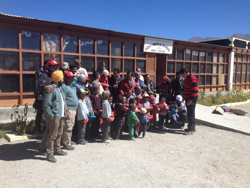 DoW Causes at Hanle - Spreading Smiles