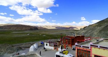 View from Sonam Guest House Hanle