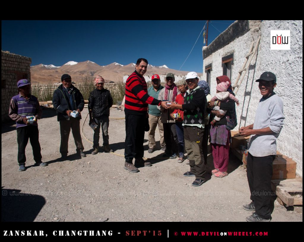 DoW Causes at Sonam Guest House Hanle - Spreading Smiles