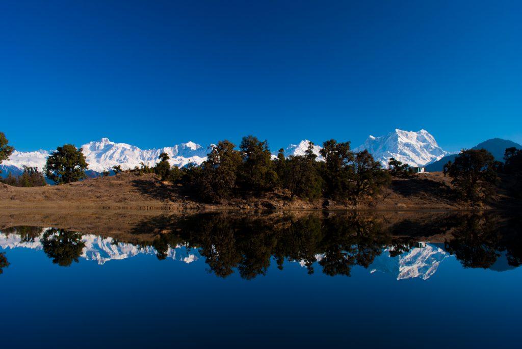 Magical Reflections at Deoriatal Lake