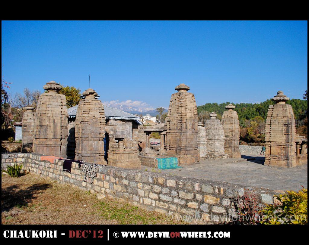 Ancient temples at Baijnath
