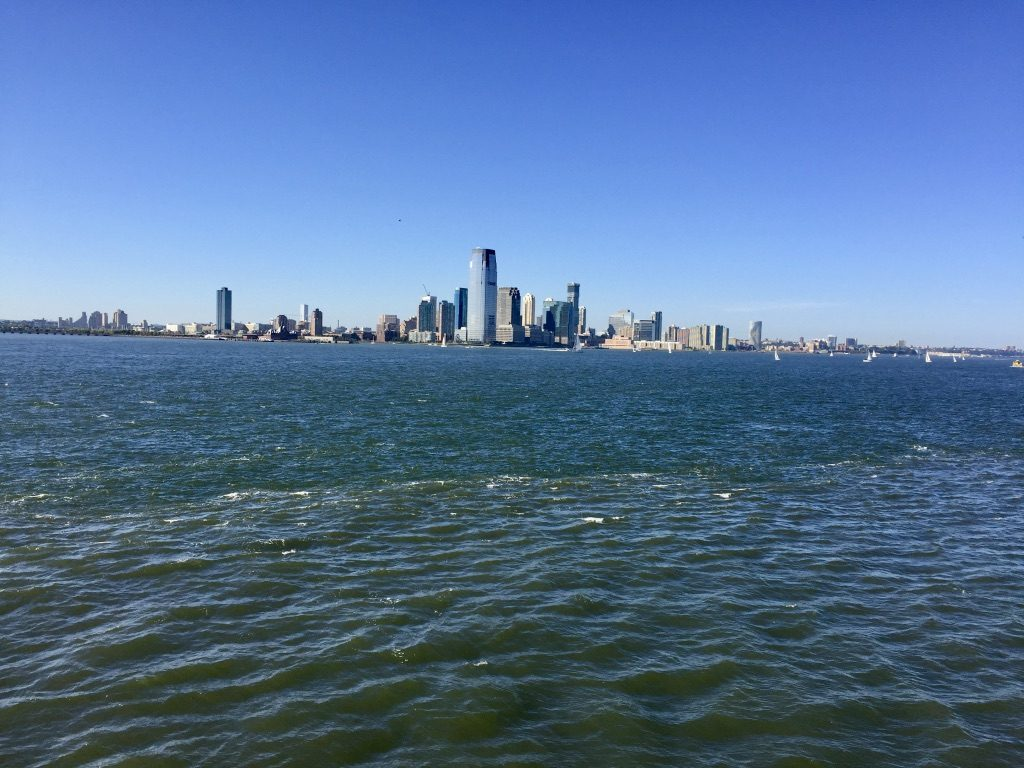 A distant view of NJ Skyline