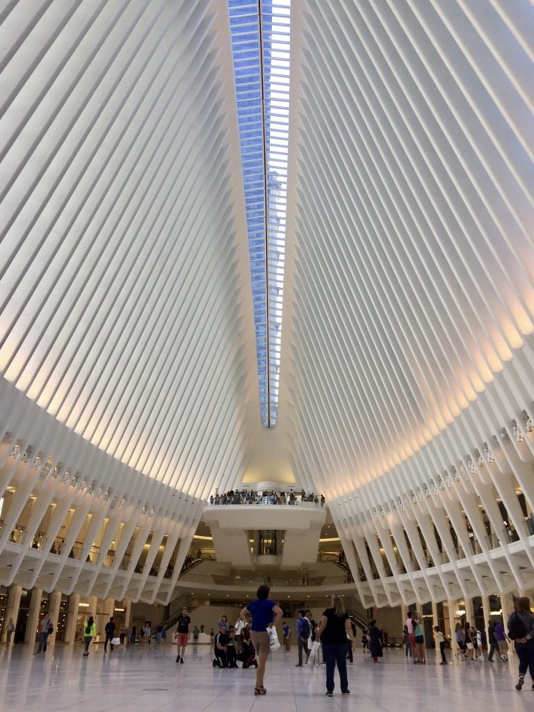That marvellous interior design of World Trade Center PATH Station