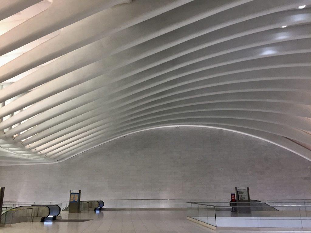 That marvellous interior design of World Trade Center PATH Station