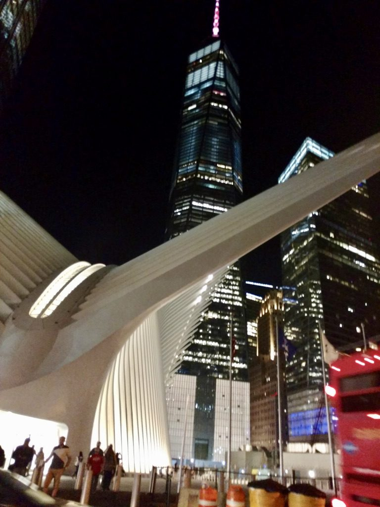 The One World Trade Center at Night