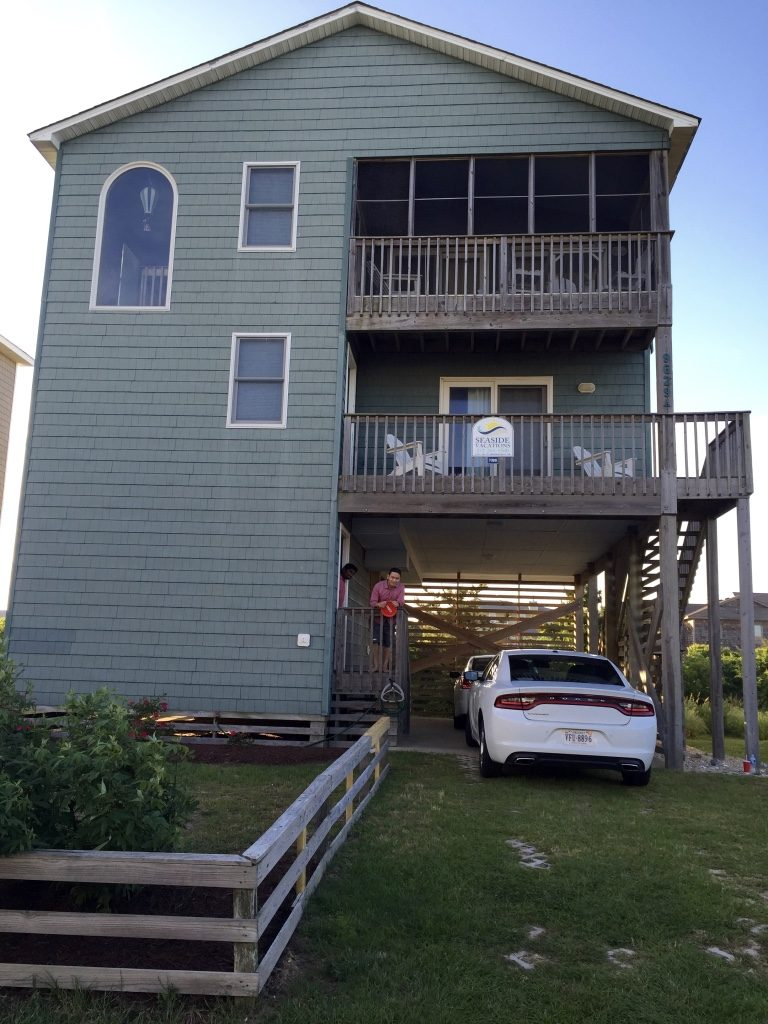 Our vacation rental house at Nags Head, Outer Banks