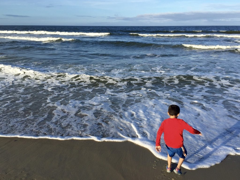 The fun of beach begins at Outer Banks
