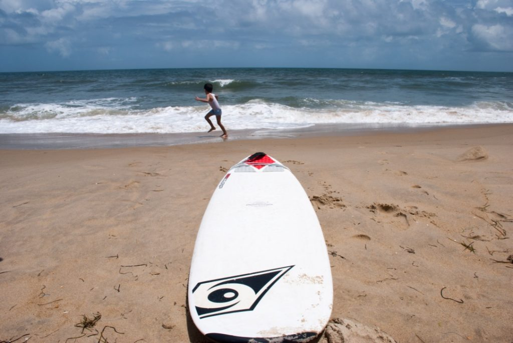 Get in the surf mode