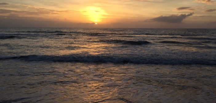 A Beautiful Sunrise at Nags Head, Outer Banks