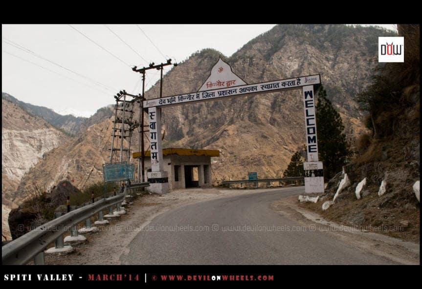 Welcome to Kinnaur Valley