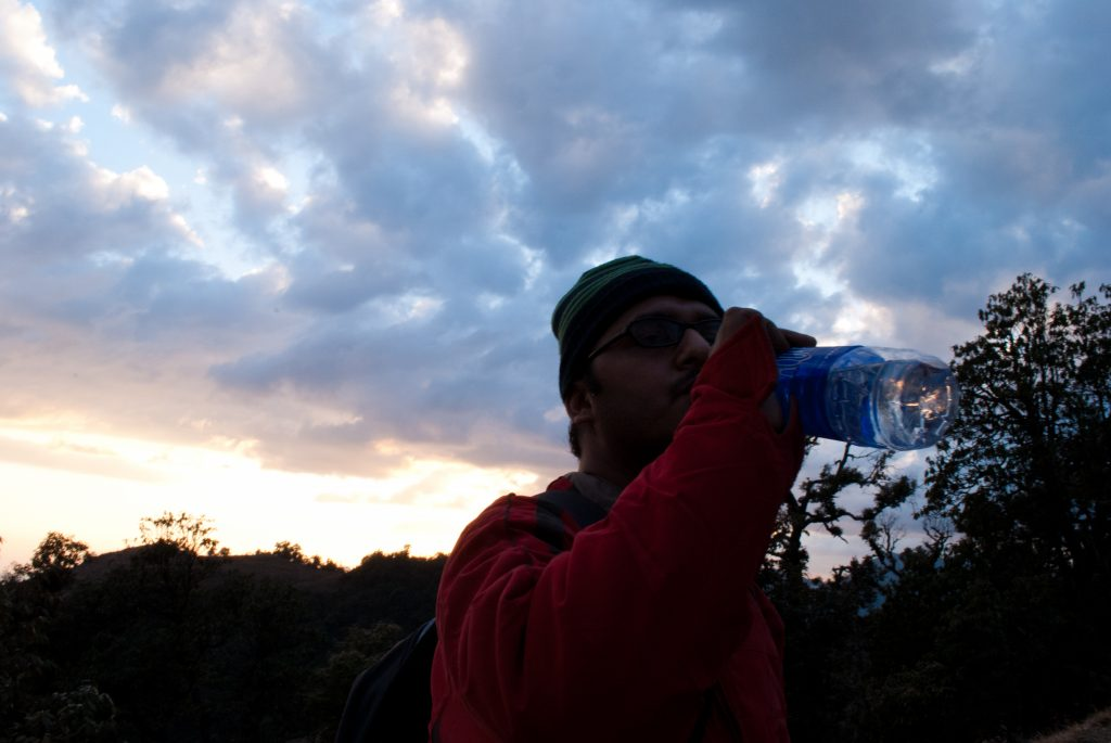 Water, indeed a saviour on hiking or trekking trips