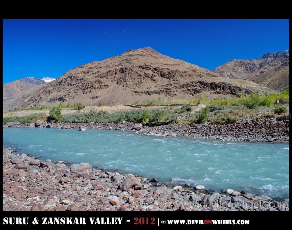Zanskar River - Those Aqua  Colors