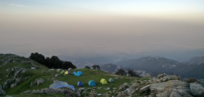 Camps Mushrooms over Triund