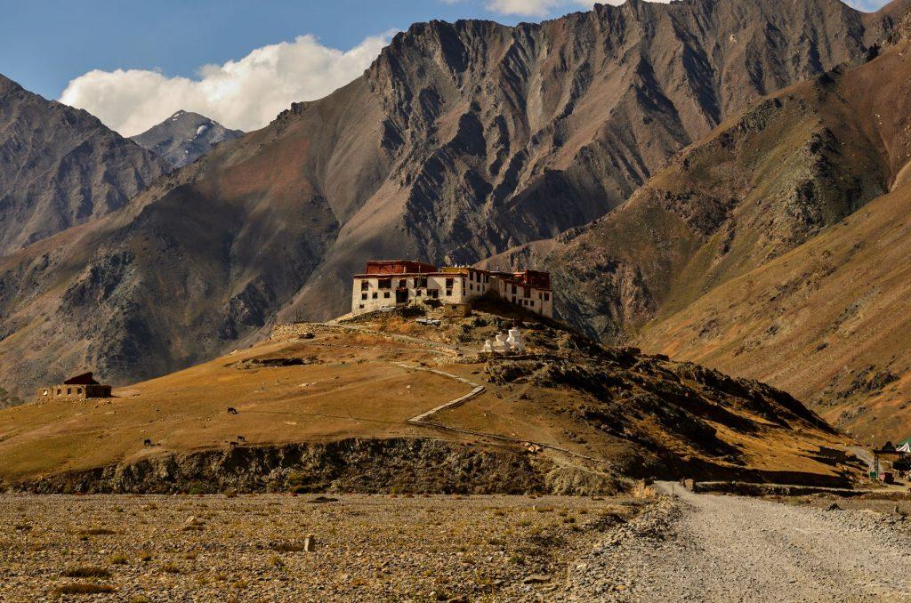 Rangdum Monastery in Suru Valley