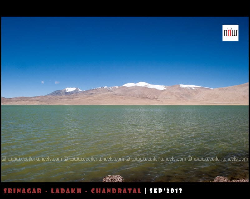 Kyon Tso 1 or Ryul Tso Lake