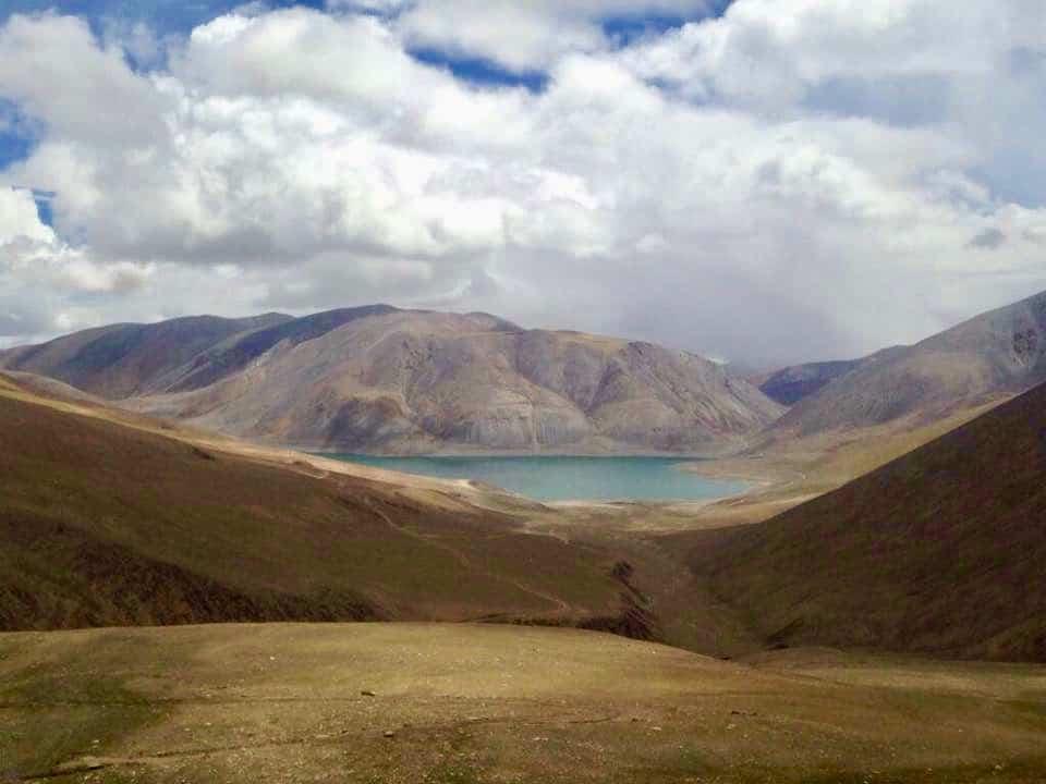 Mirpal Tso Lake near Kaksang La