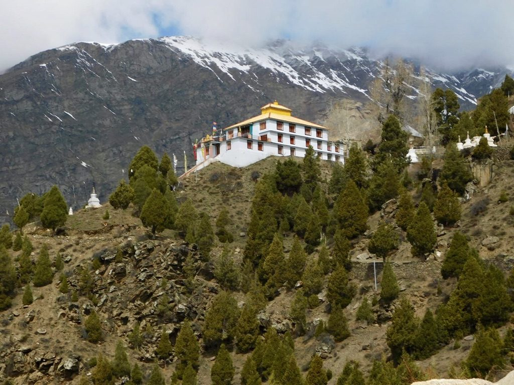 Sashur Gompa Keylong - Lahaul and Spiti Valley
