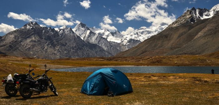 Camping in Zanskar Valley