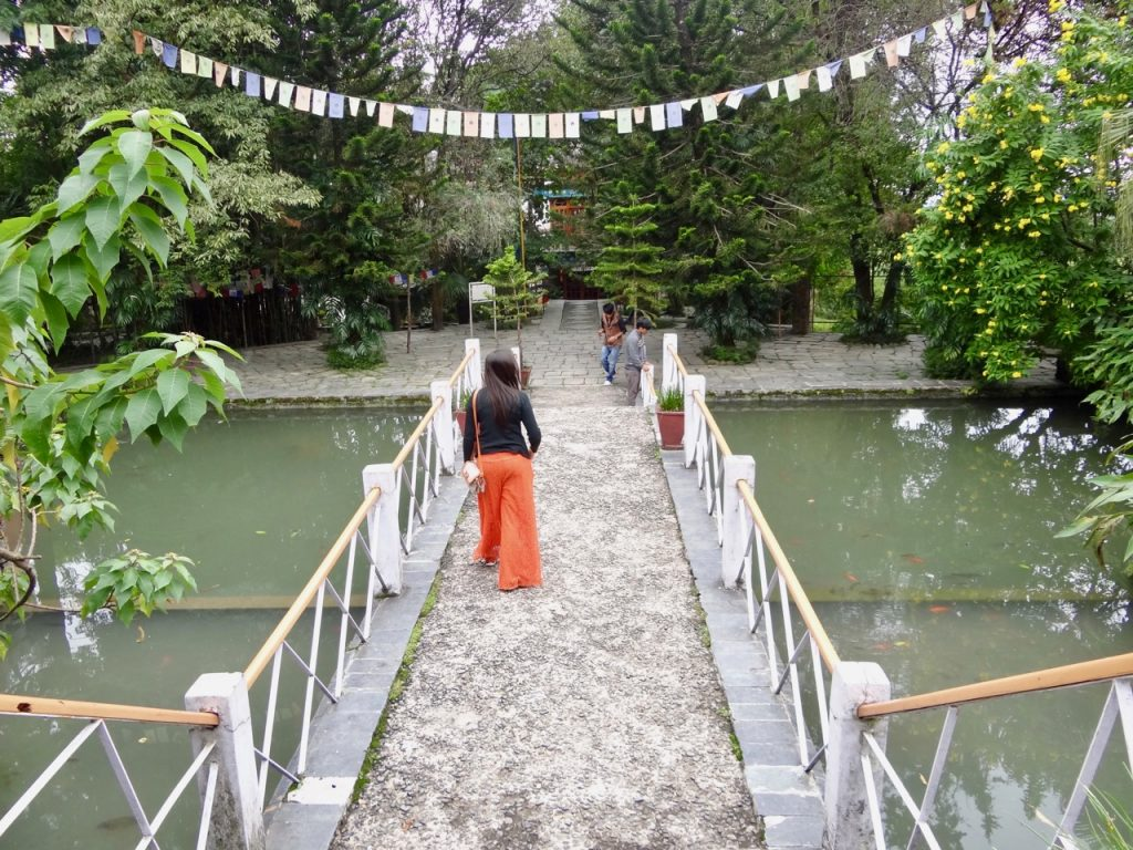 At Norbulingka Institute