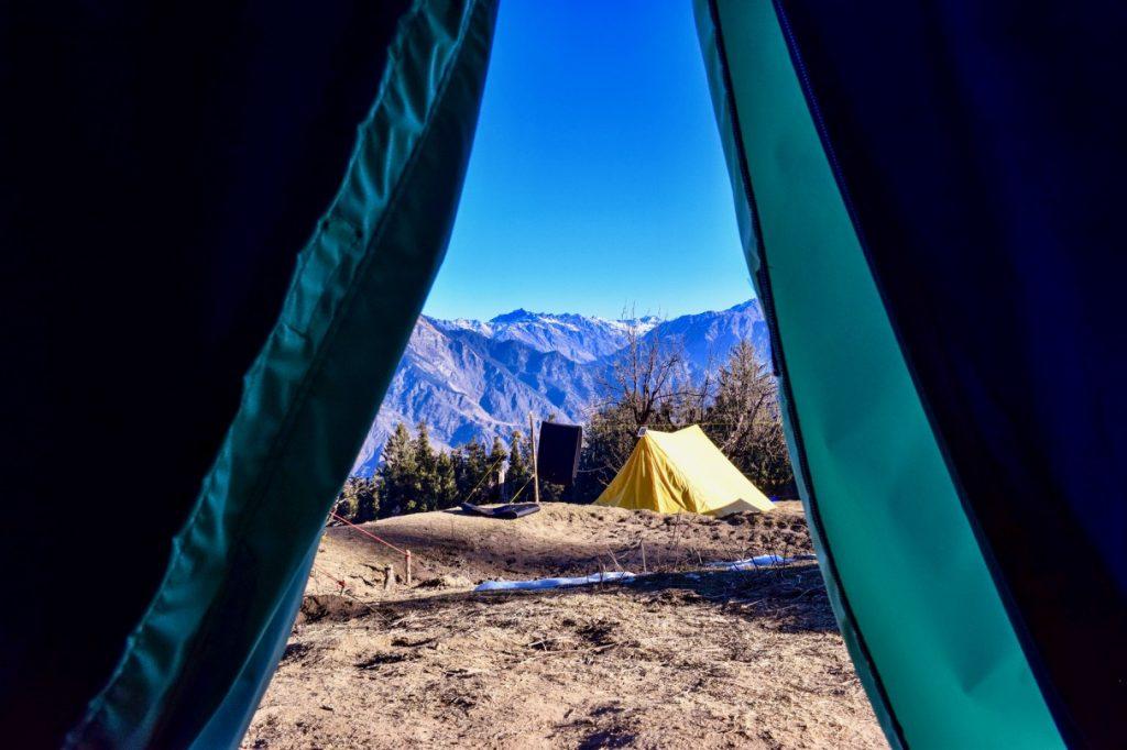 Camping at Kedarkantha Trek